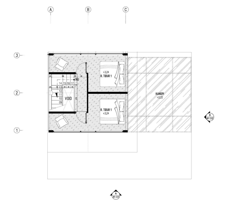 Gubah Ruang Tepi Laut - Home Stay Kabupaten Manokwari, Papua Bar., Indonesia Kabupaten Manokwari, Papua Bar., Indonesia Floorplan Tropis 51000