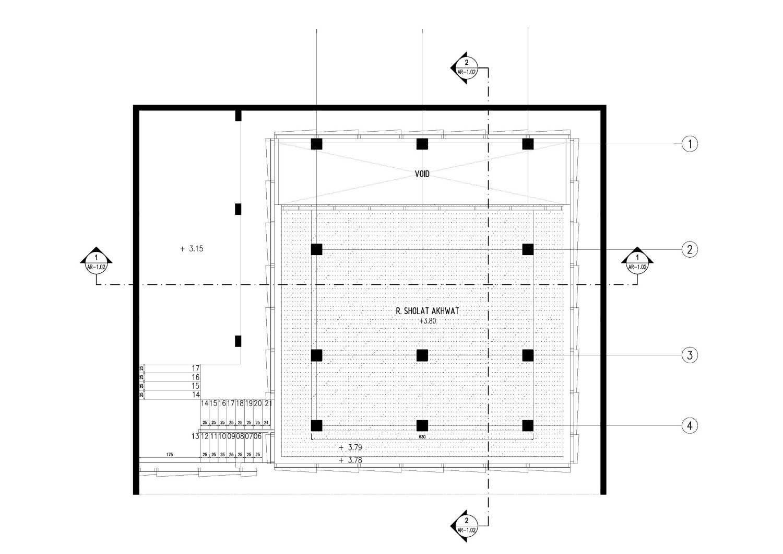 Gubah Ruang Al - Ikhlas - Mosque Bandung, Kota Bandung, Jawa Barat, Indonesia Bandung, Kota Bandung, Jawa Barat, Indonesia Floorplan  51010