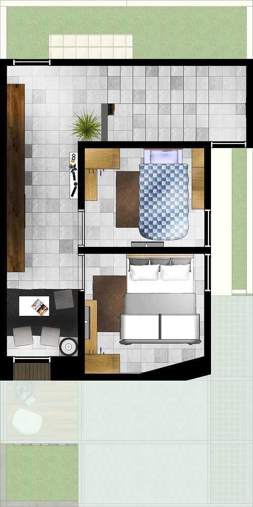 Gubah Ruang Studio Plm Residence Palembang, Kota Palembang, Sumatera Selatan, Indonesia Palembang, Kota Palembang, Sumatera Selatan, Indonesia Floorplan  51160