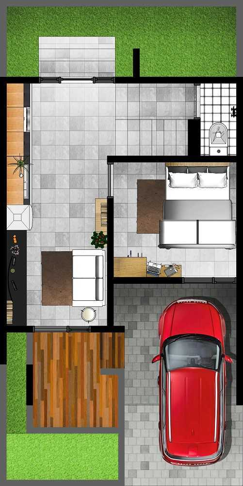 Gubah Ruang Sr Residence Palembang, Kota Palembang, Sumatera Selatan, Indonesia Palembang, Kota Palembang, Sumatera Selatan, Indonesia Floorplan  51161