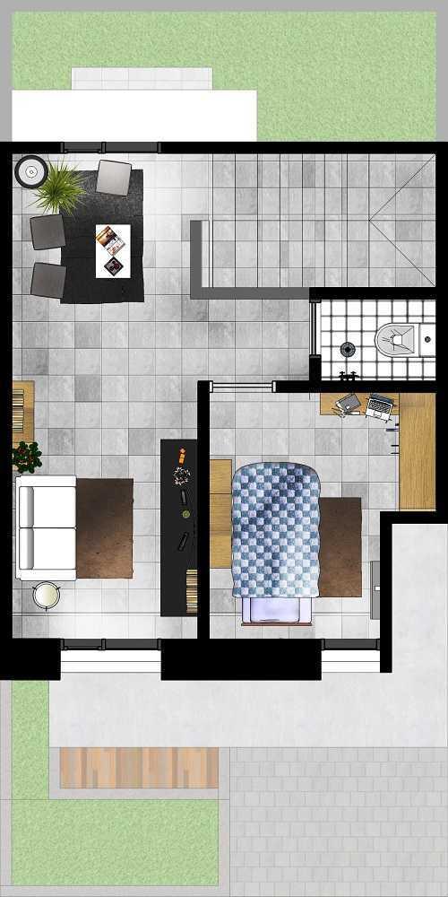 Gubah Ruang Sr Residence Palembang, Kota Palembang, Sumatera Selatan, Indonesia Palembang, Kota Palembang, Sumatera Selatan, Indonesia Floorplan  51162