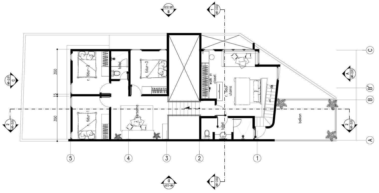 Gubah Ruang Gk House Bandung, Kota Bandung, Jawa Barat, Indonesia Bandung, Kota Bandung, Jawa Barat, Indonesia Floorplan  51346