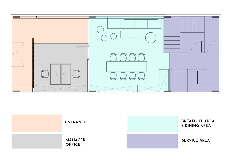 Tre Studio Sh Office Daerah Khusus Ibukota Jakarta, Indonesia Daerah Khusus Ibukota Jakarta, Indonesia Sh Office - Denah  45639