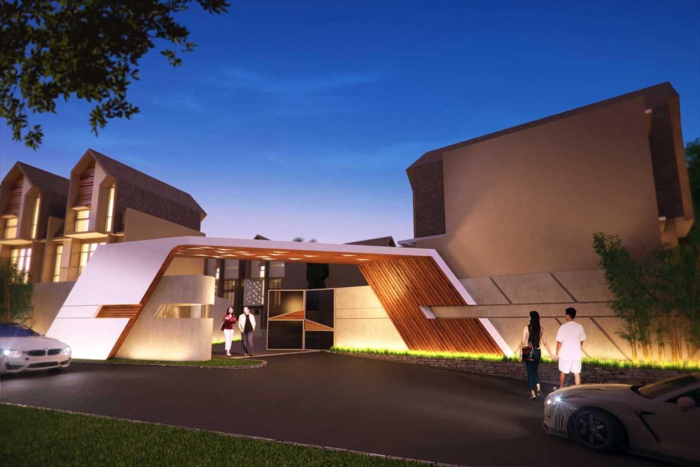 Foto inspirasi ide desain pintu masuk skandinavia Pavilion95-th-bambu-kuning oleh Pavilion95 di Arsitag