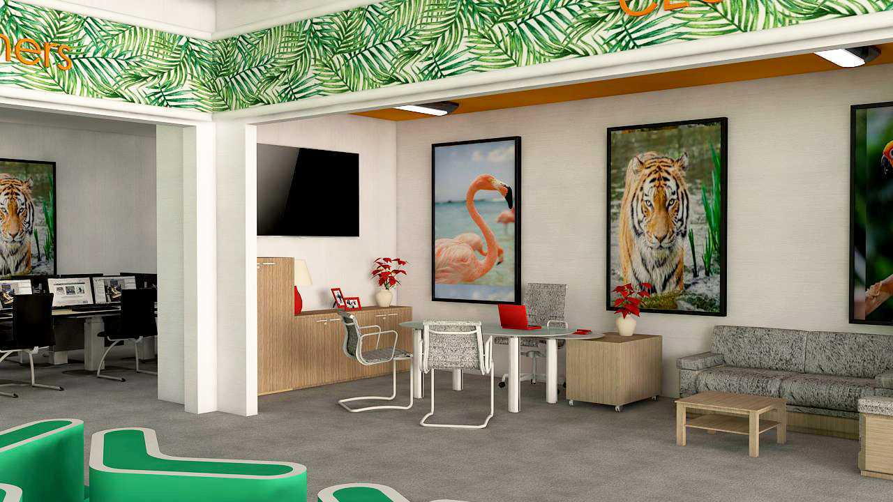Rofi'atul Ilmia Maharai Zoo&goa Office Paciran, Kabupaten Lamongan, Jawa Timur, Indonesia Paciran, Kabupaten Lamongan, Jawa Timur, Indonesia Interior View Industrial 46418
