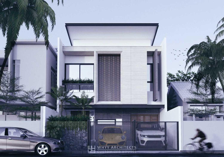 Whyy Architects Y House Blok, Jl. Bgr. Boulevard Blok A2 No.3A, Rt.6/rw.14, West Kelapa Gading, Kelapa Gading, North Jakarta City, Jakarta 14240, Indonesia Blok, Jl. Bgr. Boulevard Blok A2 No.3A, Rt.6/rw.14, West Kelapa Gading, Kelapa Gading, North Jakarta City, Jakarta 14240, Indonesia Front View Rendering  48656