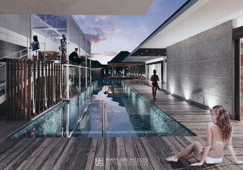 Whyy Architects Interior Swimming Pool Rumah Tegal - Jawa Tengah Tegal, Jawa Tengah, Indonesia Tegal, Jawa Tengah, Indonesia Swimming Pool Area Contemporary 48725
