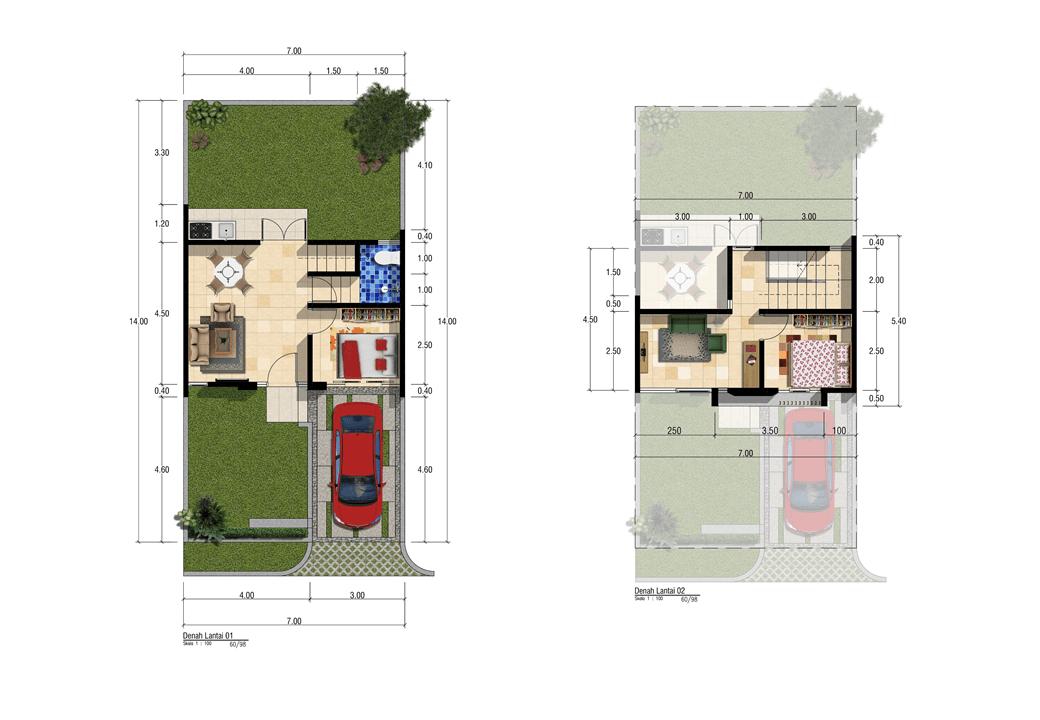 Satuvista Architect Patra Garden Residence  Malang, Kota Malang, Jawa Timur, Indonesia Malang, Kota Malang, Jawa Timur, Indonesia Floorplan Tropical 50581