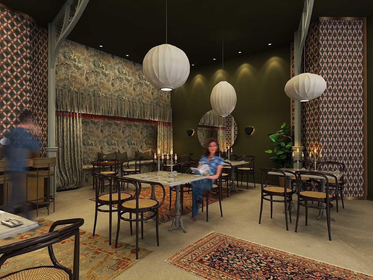 Studio Ig Interior Soematra Flower Cafe Kota Sby, Jawa Timur, Indonesia Kota Sby, Jawa Timur, Indonesia Seating Area Restaurant  49631