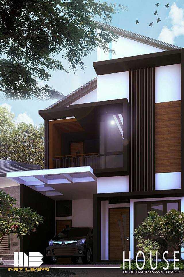 Mbartliving Private House Bekasi, Kota Bks, Jawa Barat, Indonesia Bekasi, Tambelang, Bekasi, Jawa Barat, Indonesia Exterior View Minimalis 48184