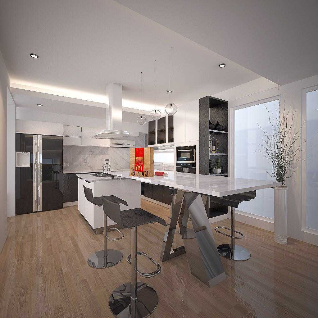 Jasa Desain Interior Dapur Tropis Terbaru 2021 - ARSITAG