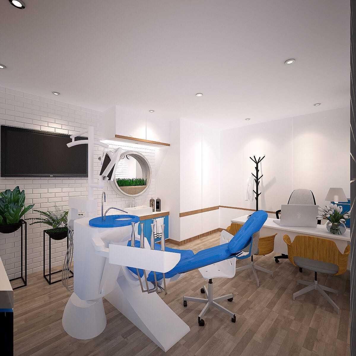Ky Interior Design Klinik Gigi Noto Puri Indah Daerah Khusus Ibukota Jakarta, Indonesia Daerah Khusus Ibukota Jakarta, Indonesia Interior Clinic  48903