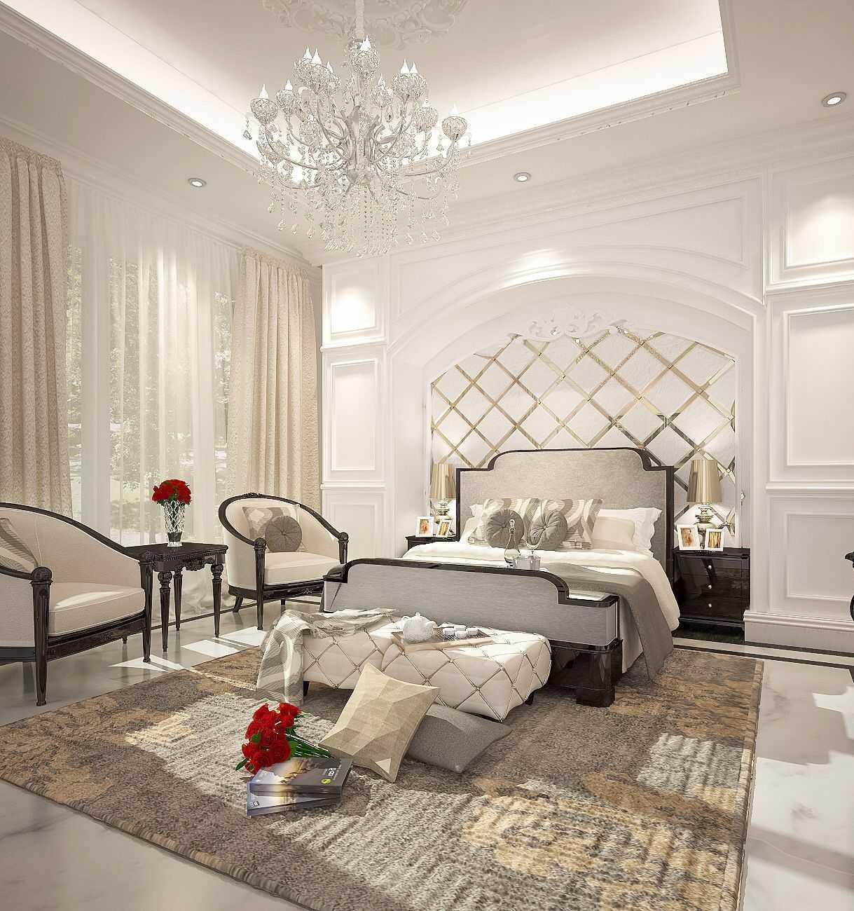 Ky Interior Design Vip House Bogor Bogor, Jawa Barat, Indonesia Bogor, Jawa Barat, Indonesia Master Bedroom  48910