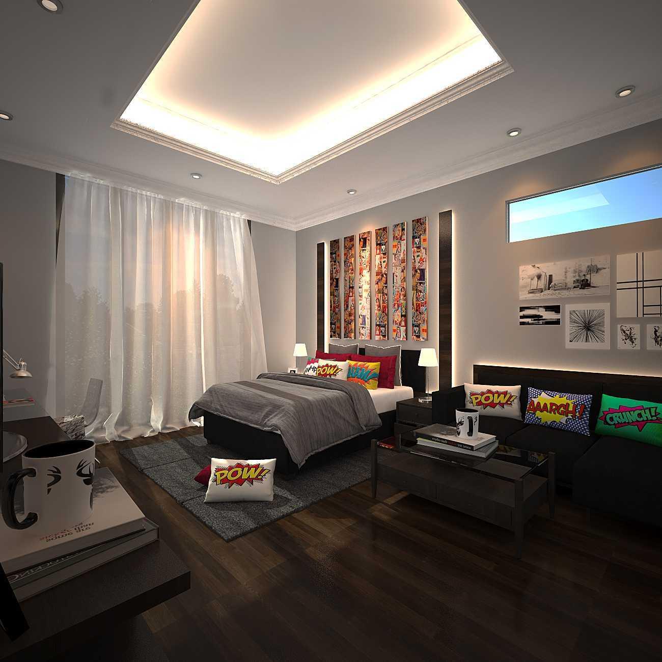 Kaye Interior Design Kemang Pratama House Bekasi, Tambelang, Bekasi, Jawa Barat, Indonesia Bekasi, Tambelang, Bekasi, Jawa Barat, Indonesia Kids Bedroom Contemporary 48913
