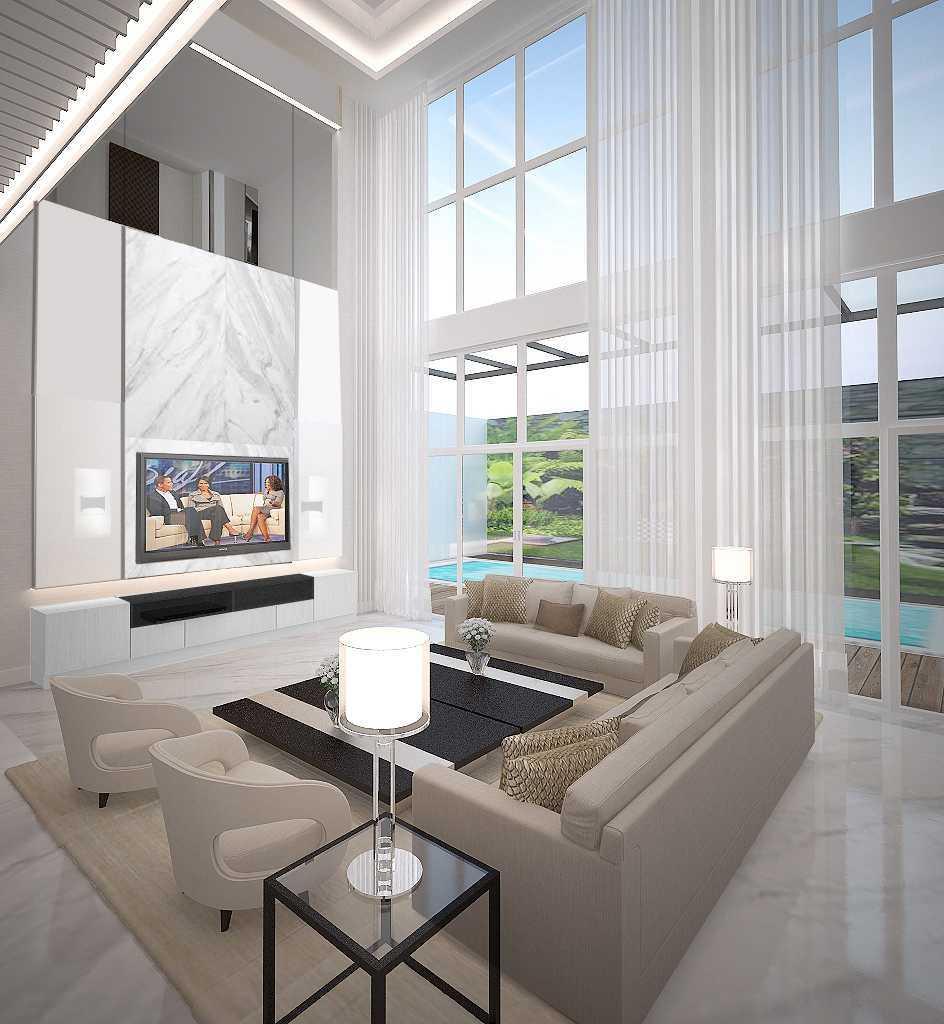 Living Room Translate To Indo: Project Kemang Pratama House Desain Arsitek Oleh KY