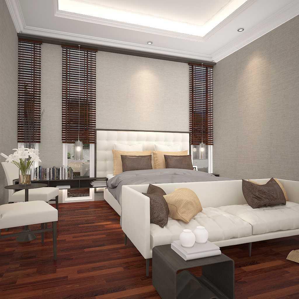 Kaye Interior Design Kemang Pratama House Bekasi, Tambelang, Bekasi, Jawa Barat, Indonesia Bekasi, Tambelang, Bekasi, Jawa Barat, Indonesia Master Bedroom  48915