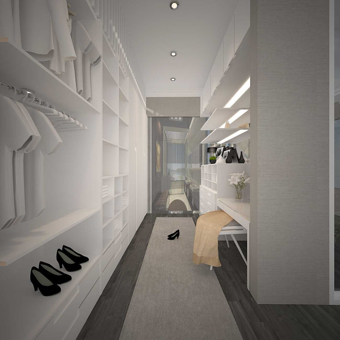 Kaye Interior Design Kemang Pratama House Bekasi, Tambelang, Bekasi, Jawa Barat, Indonesia Bekasi, Tambelang, Bekasi, Jawa Barat, Indonesia Walk In Closet  48919