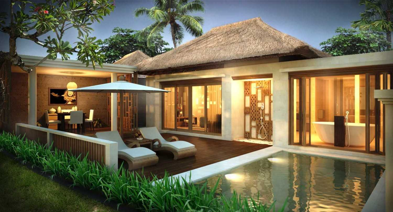 Made Dharmendra Architect Tunon Resort Ubud, Kabupaten Gianyar, Bali, Indonesia Ubud, Kabupaten Gianyar, Bali, Indonesia Pool Area Kontemporer 49355