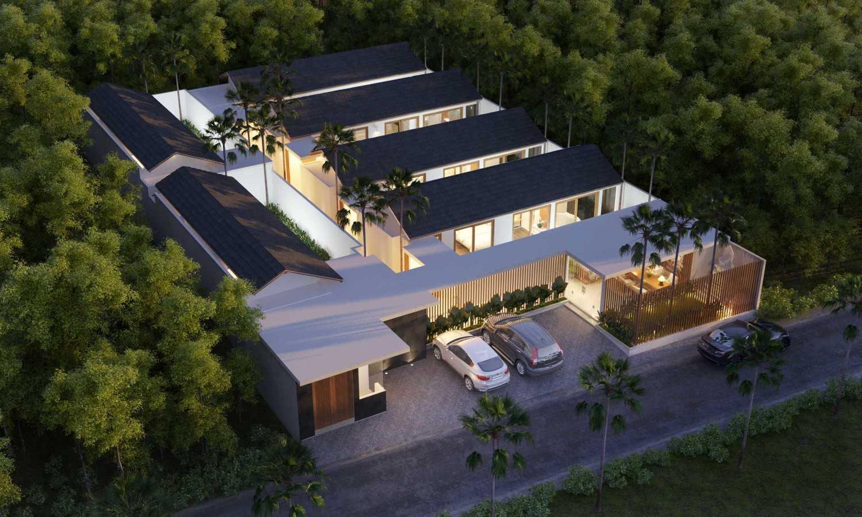 Made Dharmendra Architect Asuri Villa  Seminyak, Kuta, Kabupaten Badung, Bali, Indonesia Seminyak, Kuta, Kabupaten Badung, Bali, Indonesia Bird Eye View Modern 49373