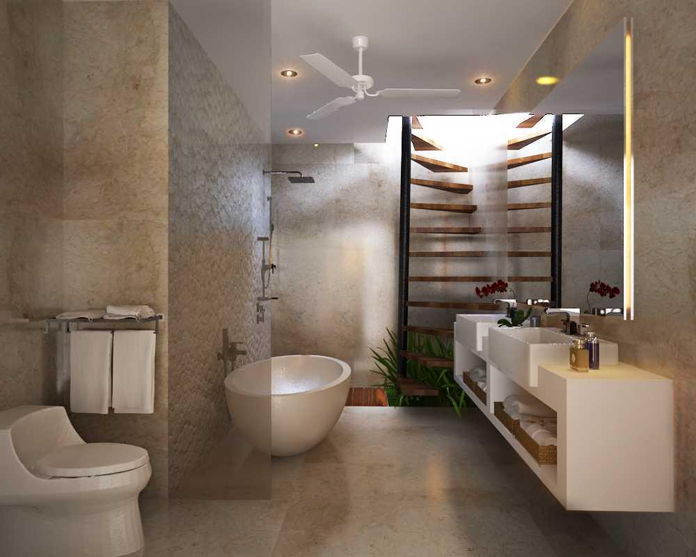 Made Dharmendra Architect Villa Jimbaran Jimbaran, Kuta Sel., Kabupaten Badung, Bali, Indonesia Jimbaran, Kuta Sel., Kabupaten Badung, Bali, Indonesia Bathroom  49402