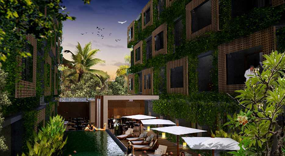 Made Dharmendra Architect Manggrove Spa, Hotel & Apartment Jimbaran, Kuta Sel., Kabupaten Badung, Bali, Indonesia Jimbaran, Kuta Sel., Kabupaten Badung, Bali, Indonesia Exterior View  49481