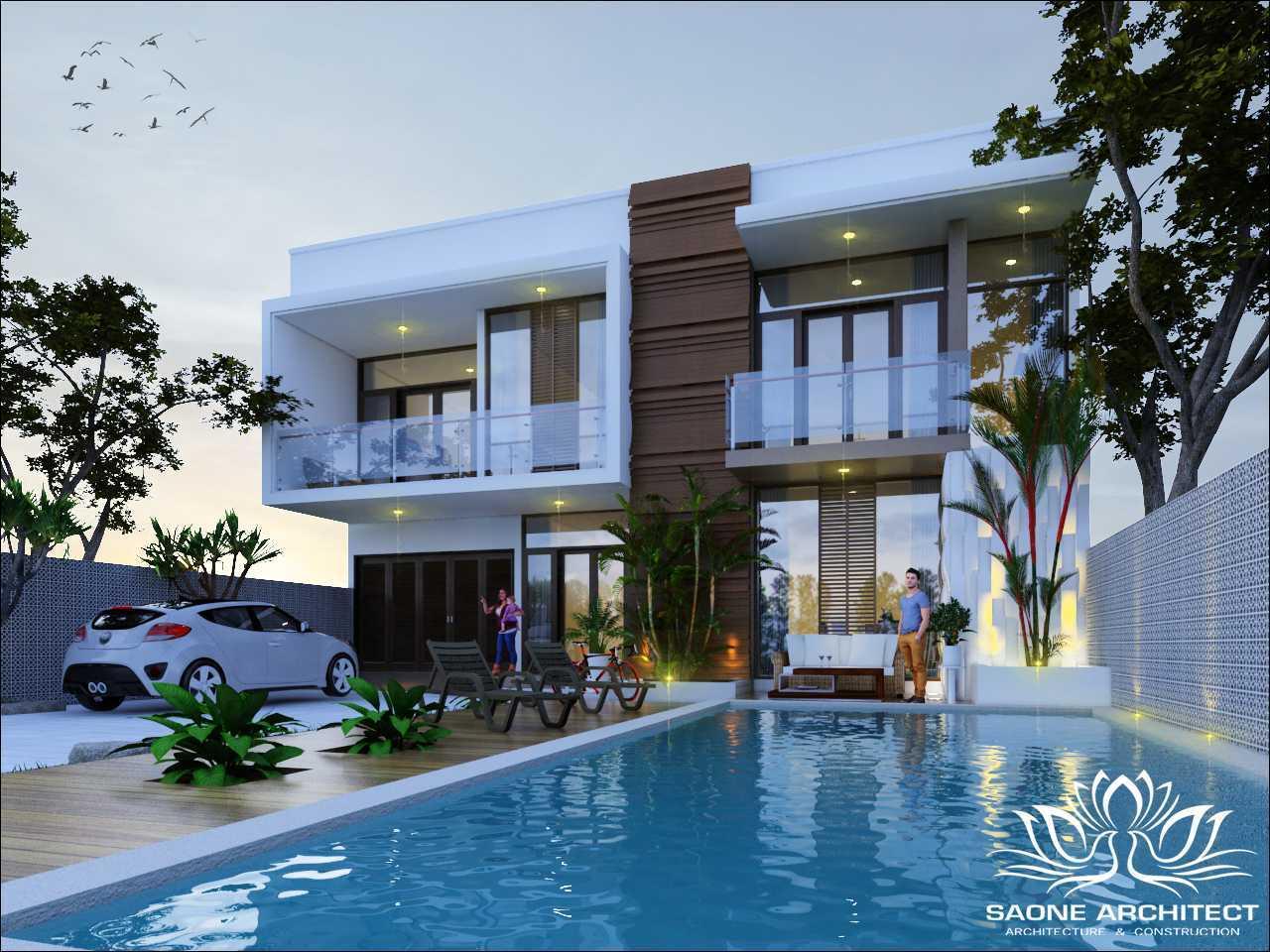 Saone Architect Private Villa Jimbaran Bali Jimbaran, Kuta Sel., Kabupaten Badung, Bali, Indonesia Jimbaran, Kuta Sel., Kabupaten Badung, Bali, Indonesia Exterior View Tropical 49723