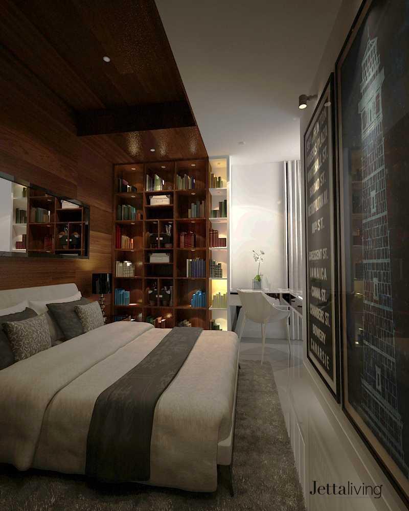 Apartment Unit: Project St. Moritz Apartment Unit Desain Arsitek Oleh