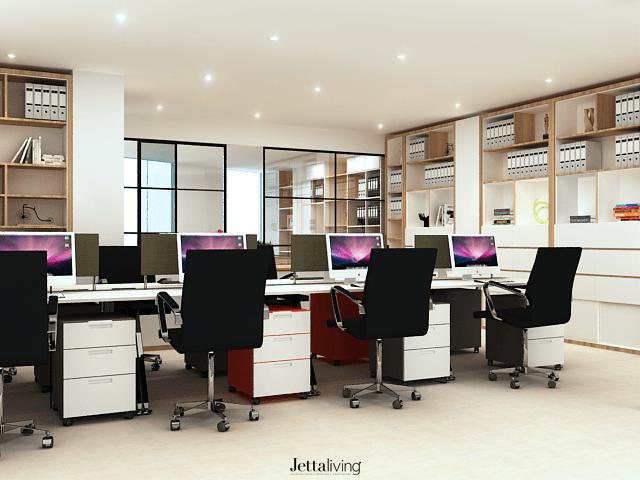 Jettaliving Willich Office Jakarta, Daerah Khusus Ibukota Jakarta, Indonesia Jakarta, Daerah Khusus Ibukota Jakarta, Indonesia Working Station Modern 52620