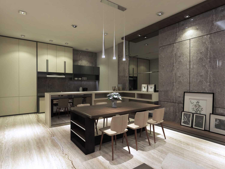 Veind Studio Residential Mrs. W Surabaya, Kota Sby, Jawa Timur, Indonesia Surabaya, Kota Sby, Jawa Timur, Indonesia Dining Room Modern 50376
