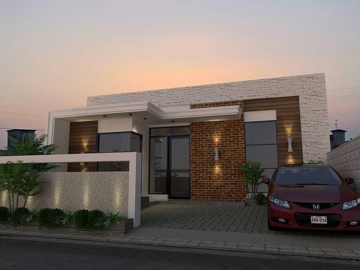 Muhammad Risky Pamungkas House Clinic Cirebon Cirebon, Kota Cirebon, Jawa Barat, Indonesia  Facade View Minimalis 50465