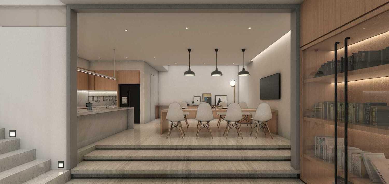 Studio Go J House  Medan, Kota Medan, Sumatera Utara, Indonesia Medan, Kota Medan, Sumatera Utara, Indonesia Kitchen / Dining Contemporary 51407