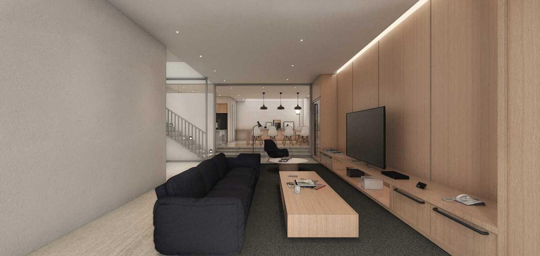 Studio Go J House  Medan, Kota Medan, Sumatera Utara, Indonesia Medan, Kota Medan, Sumatera Utara, Indonesia Living Room Contemporary 51409