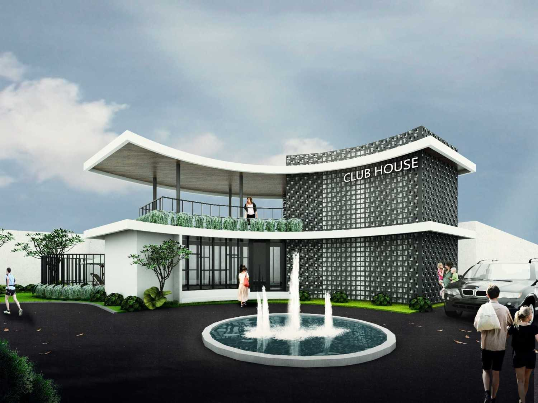 Atelier Baou Clover Park Town House  Cibinong, Bogor, Jawa Barat, Indonesia Cibinong, Bogor, Jawa Barat, Indonesia Club House Clover Park Contemporary 52356