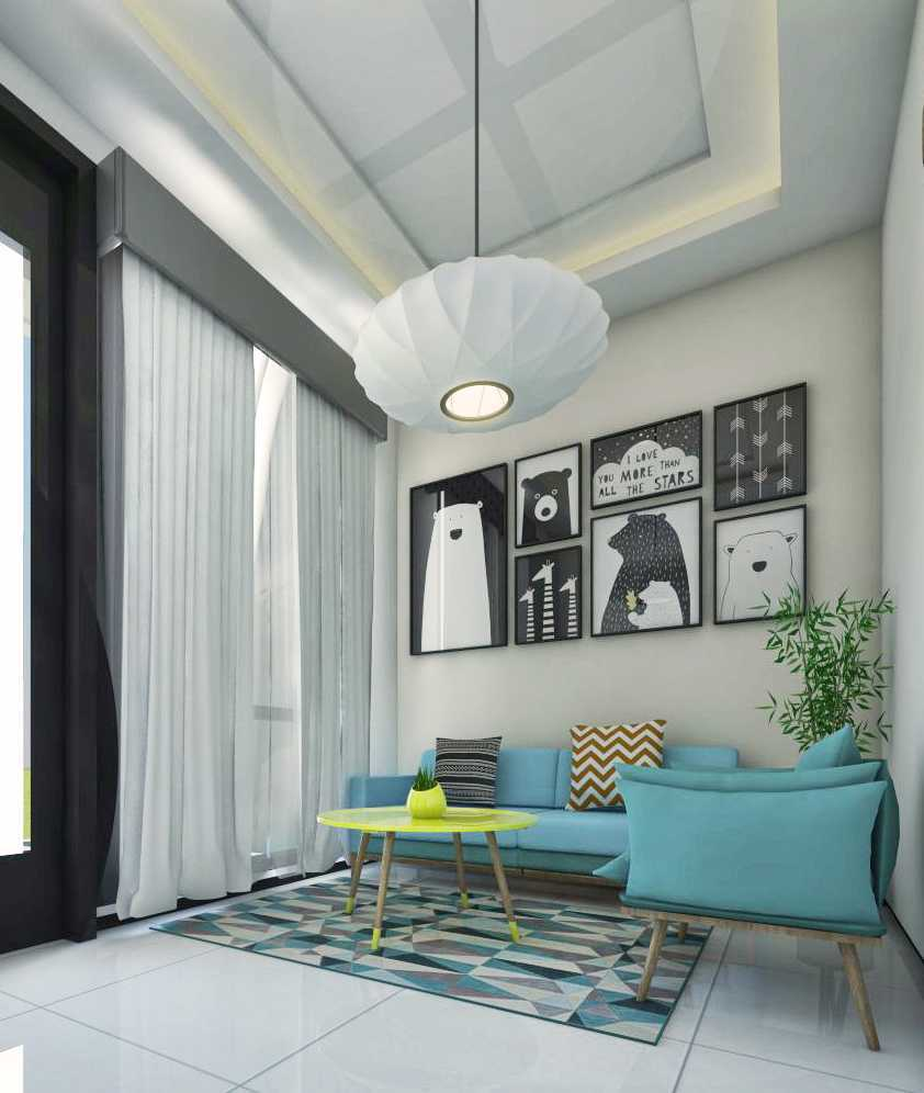 Atelier Baou Clover Park Town House  Cibinong, Bogor, Jawa Barat, Indonesia Cibinong, Bogor, Jawa Barat, Indonesia Living Room  52360