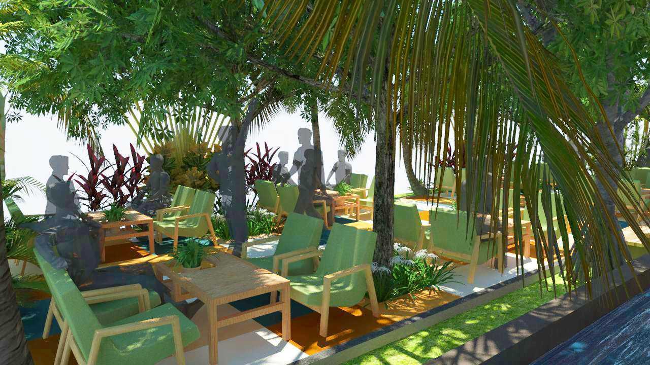 Verdant Incorporated Secret Garden Resto & Lounge Rangkui, Kota Pangkal Pinang, Kepulauan Bangka Belitung, Indonesia Rangkui, Kota Pangkal Pinang, Kepulauan Bangka Belitung, Indonesia Seating Area Restaurant Tropis 52524