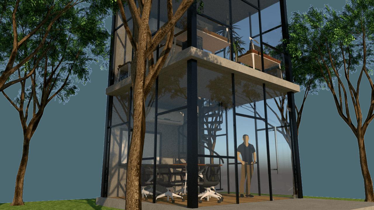 backyard home office. Verdant Incorporated Backyard Home Office Bangka, Mampang Prpt., Kota Jakarta Selatan, Daerah F