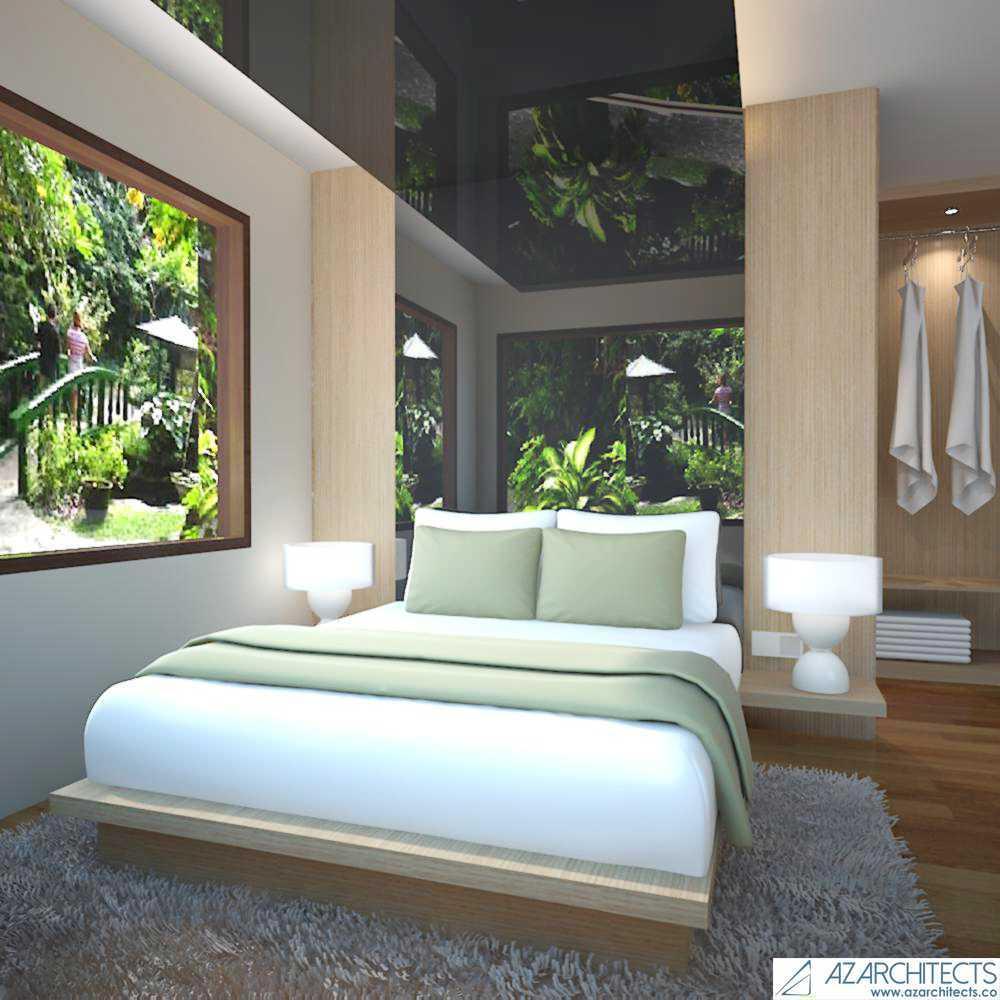 Az Architect Escape Villa Bogor, Jawa Barat, Indonesia Bogor, Jawa Barat, Indonesia Bedroom View Scandinavian 53786