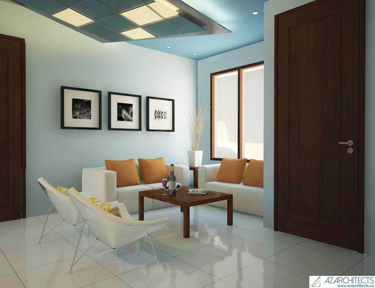 Az Architect Escape Villa Bogor, Jawa Barat, Indonesia Bogor, Jawa Barat, Indonesia Living Room Scandinavian 53789