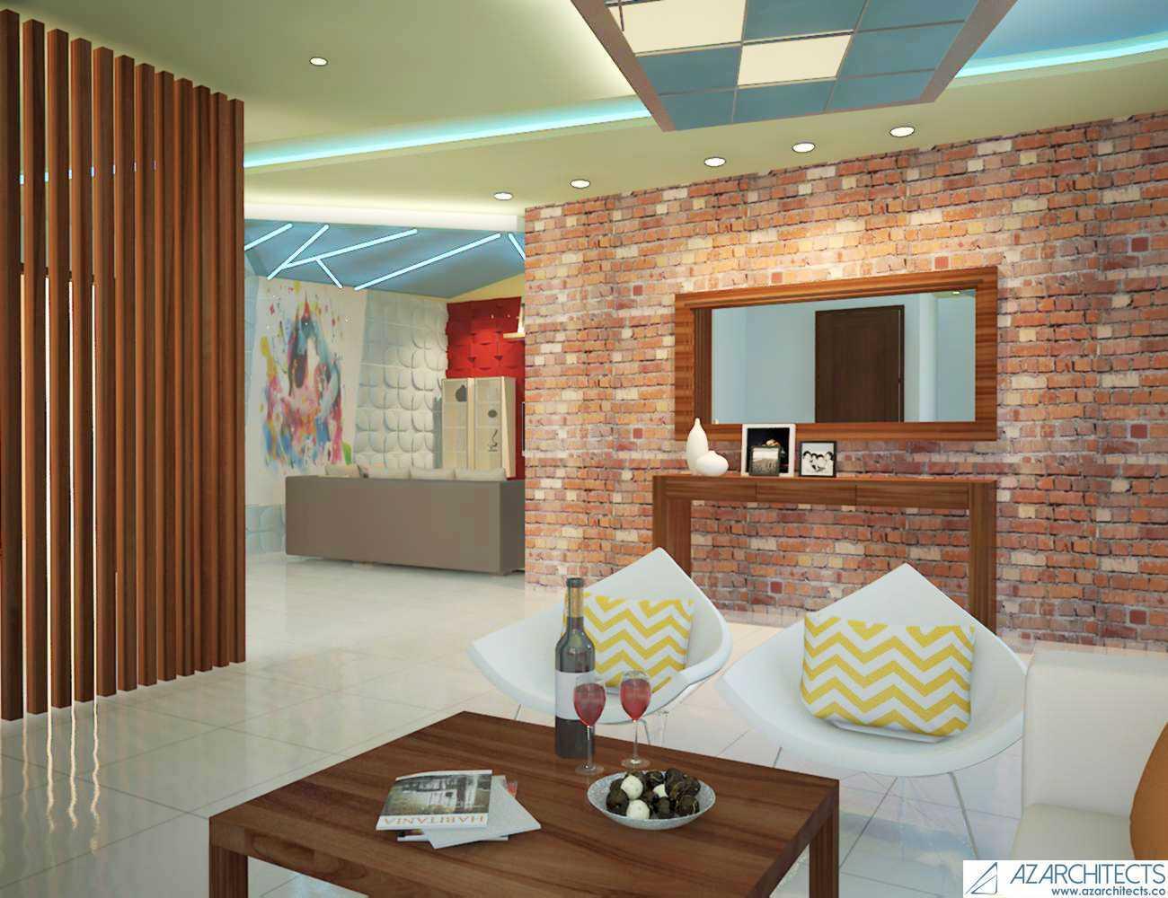 Az Architect Escape Villa Bogor, Jawa Barat, Indonesia Bogor, Jawa Barat, Indonesia Living Room Scandinavian 53790