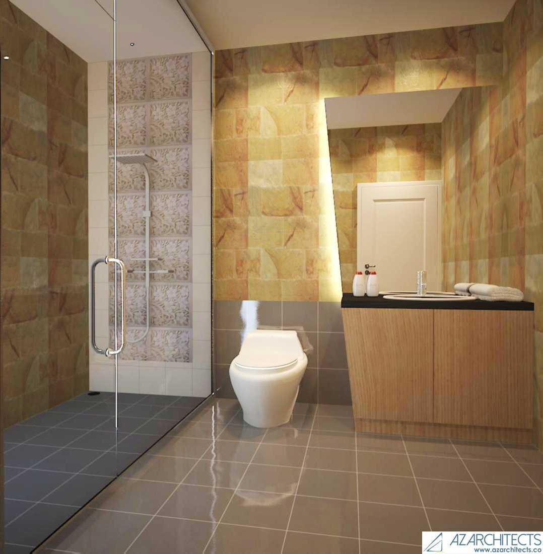 Az Architect Escape Villa Bogor, Jawa Barat, Indonesia Bogor, Jawa Barat, Indonesia Bathroom Scandinavian 53791