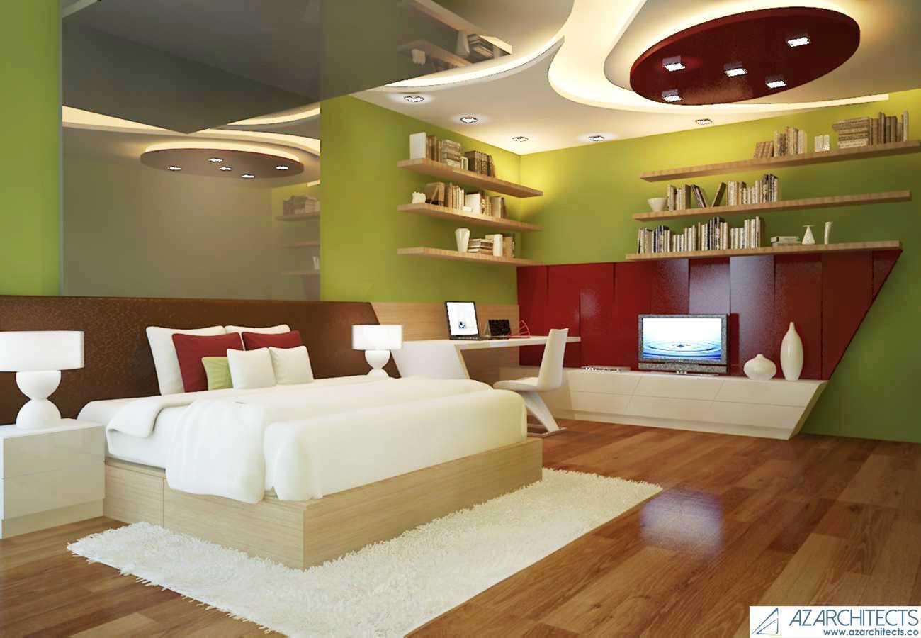 Az Architect Escape Villa Bogor, Jawa Barat, Indonesia Bogor, Jawa Barat, Indonesia Bedroom View Scandinavian 53792