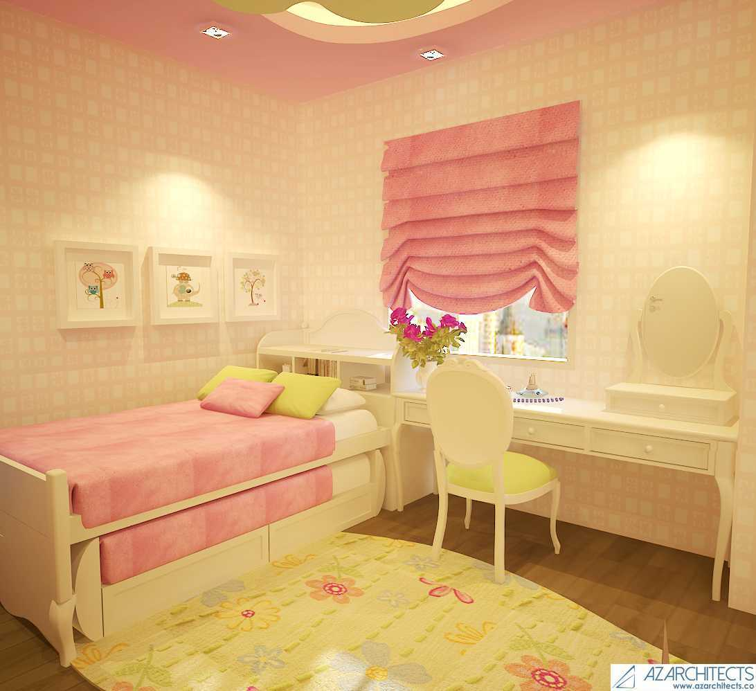Az Architects Girls Bedroom Indonesia Indonesia Bedroom View  53809
