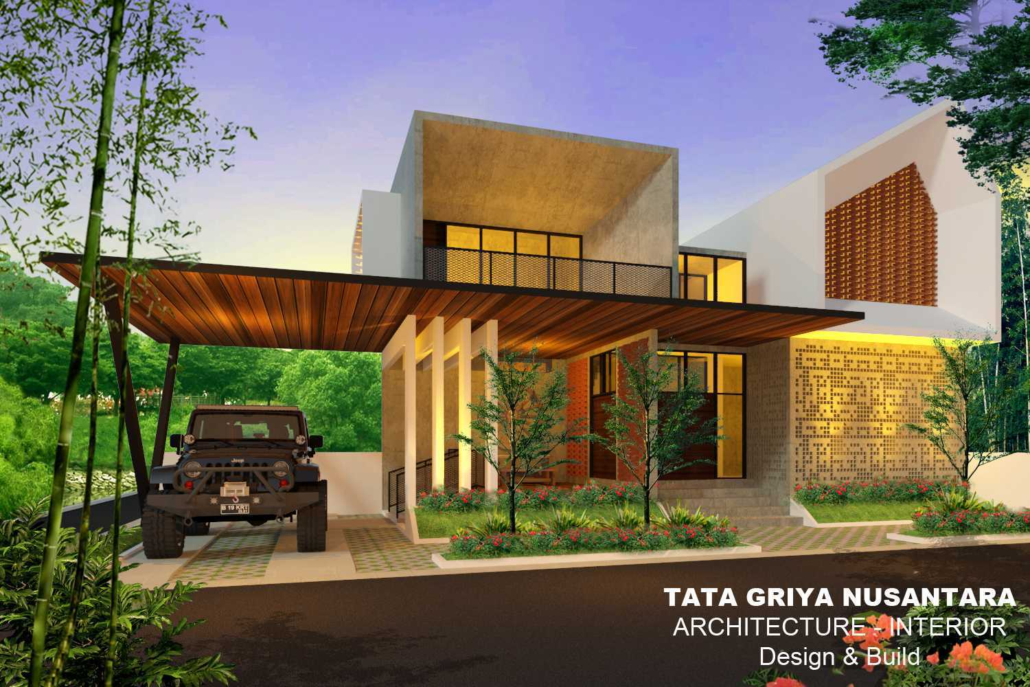 Jasa Design and Build tata griya nusantara di Pemalang