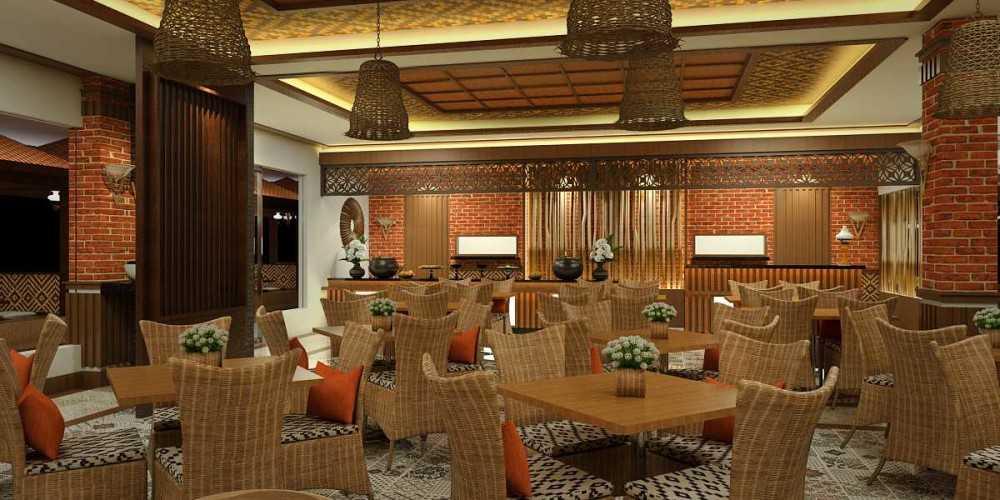 Photo VIEW-1 Rumah Makan Ikan Goreng Cianjur 4 desain arsitek oleh Vivame Design - ARSITAG