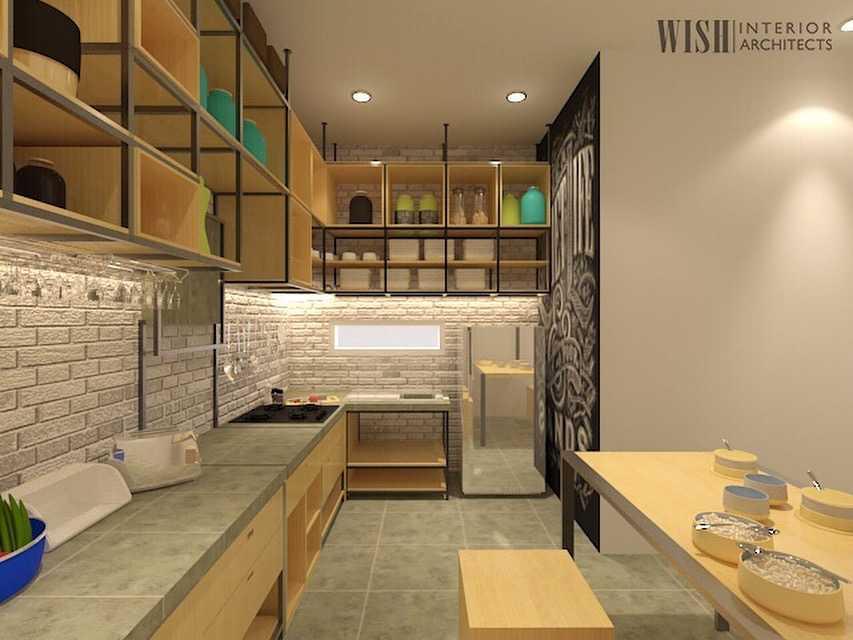 Project Dr V Kitchen Set Desain Arsitek Oleh Wish Interior