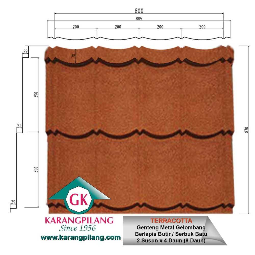 Variasi Coffee Brown  ConstructionRoofsSheets And Panels For Roofs 6