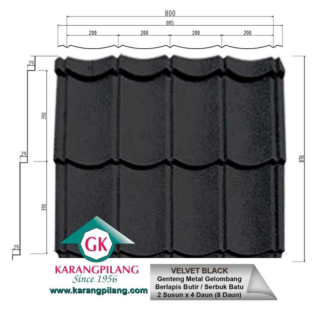 Variasi Emerald Rustic Green  ConstructionRoofsSheets And Panels For Roofs 7