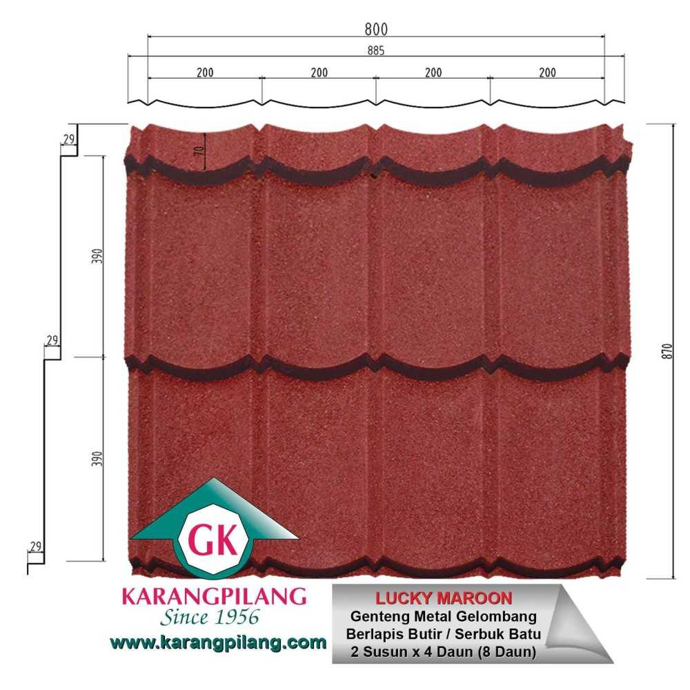 Variasi Emerald Rustic Green  ConstructionRoofsSheets And Panels For Roofs 11