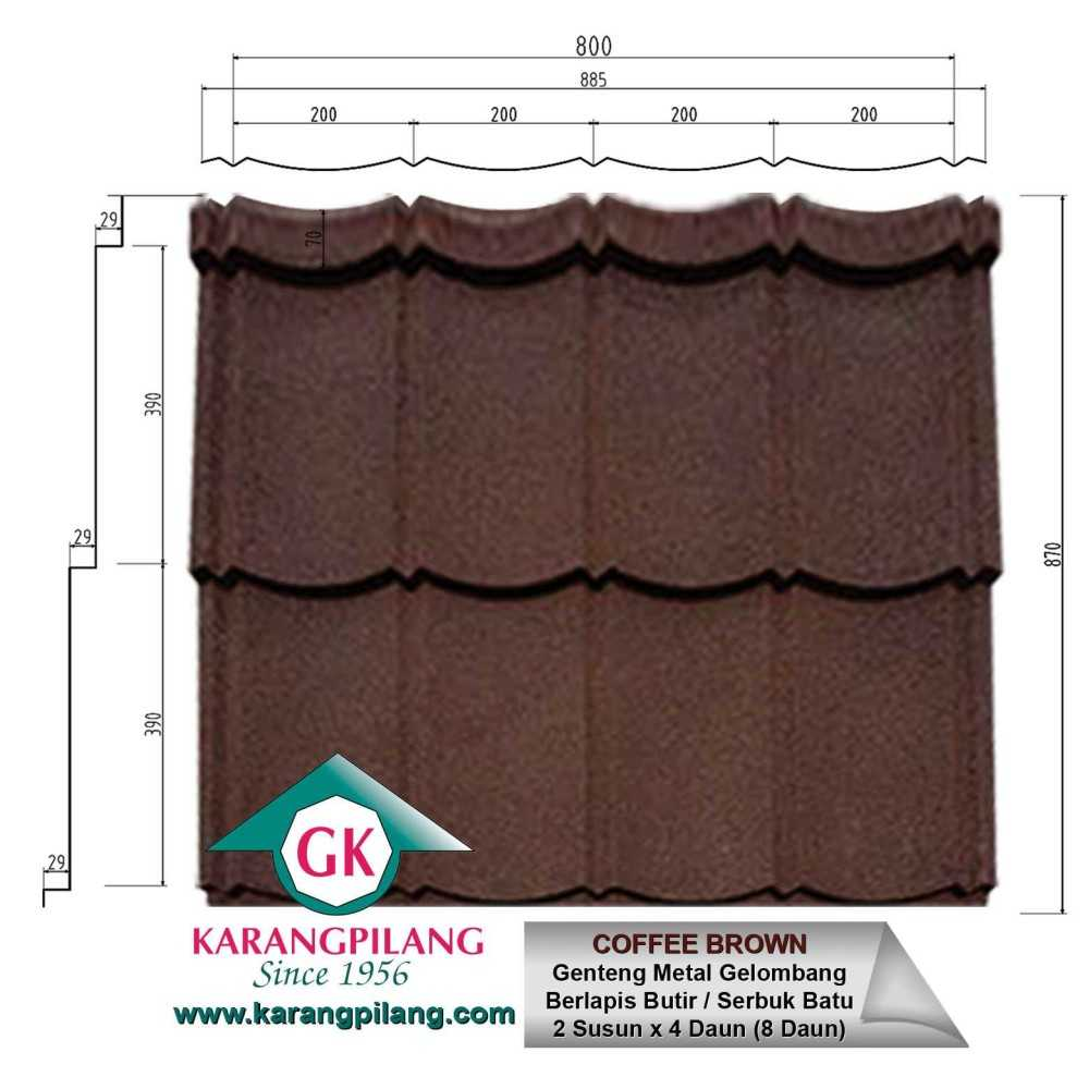 Variasi Charcoal Rustic Grey  ConstructionRoofsSheets And Panels For Roofs 1