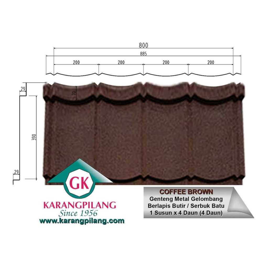 Variasi Lucky Maroon  ConstructionRoofsSheets And Panels For Roofs 2